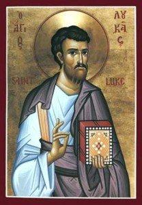 18 ottobre: San Luca Evangelista; XXVIII settimana del T.O.