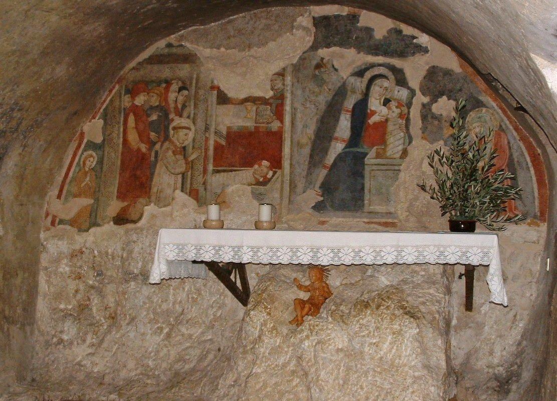 St Francis Greccio