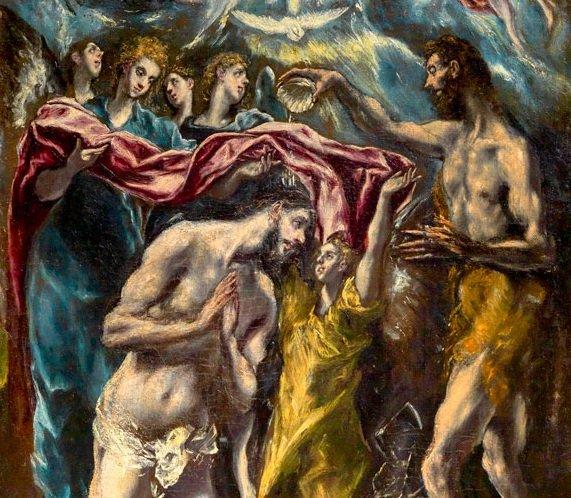 imm it El-Greco-Adorazione-dei-Pastori-e-Battesimo-di-Cristo-Palazzo-Barberini