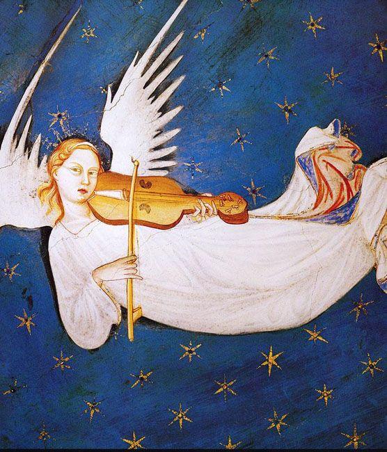 imm it angelo musicante, chiesa di san silvestro l'Aquila