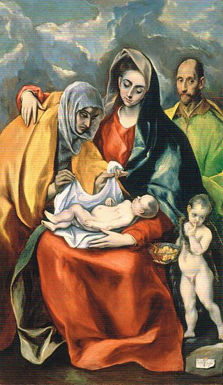imm pens e it El_Greco_-_The_Holy_Family_-_WGA10482 - Copia