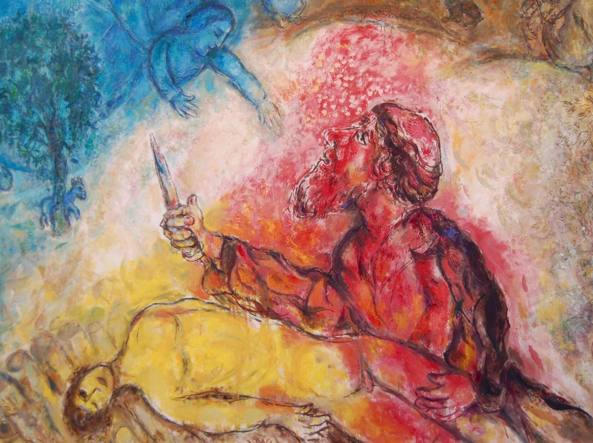 chagall Il saxrificio di isacco it