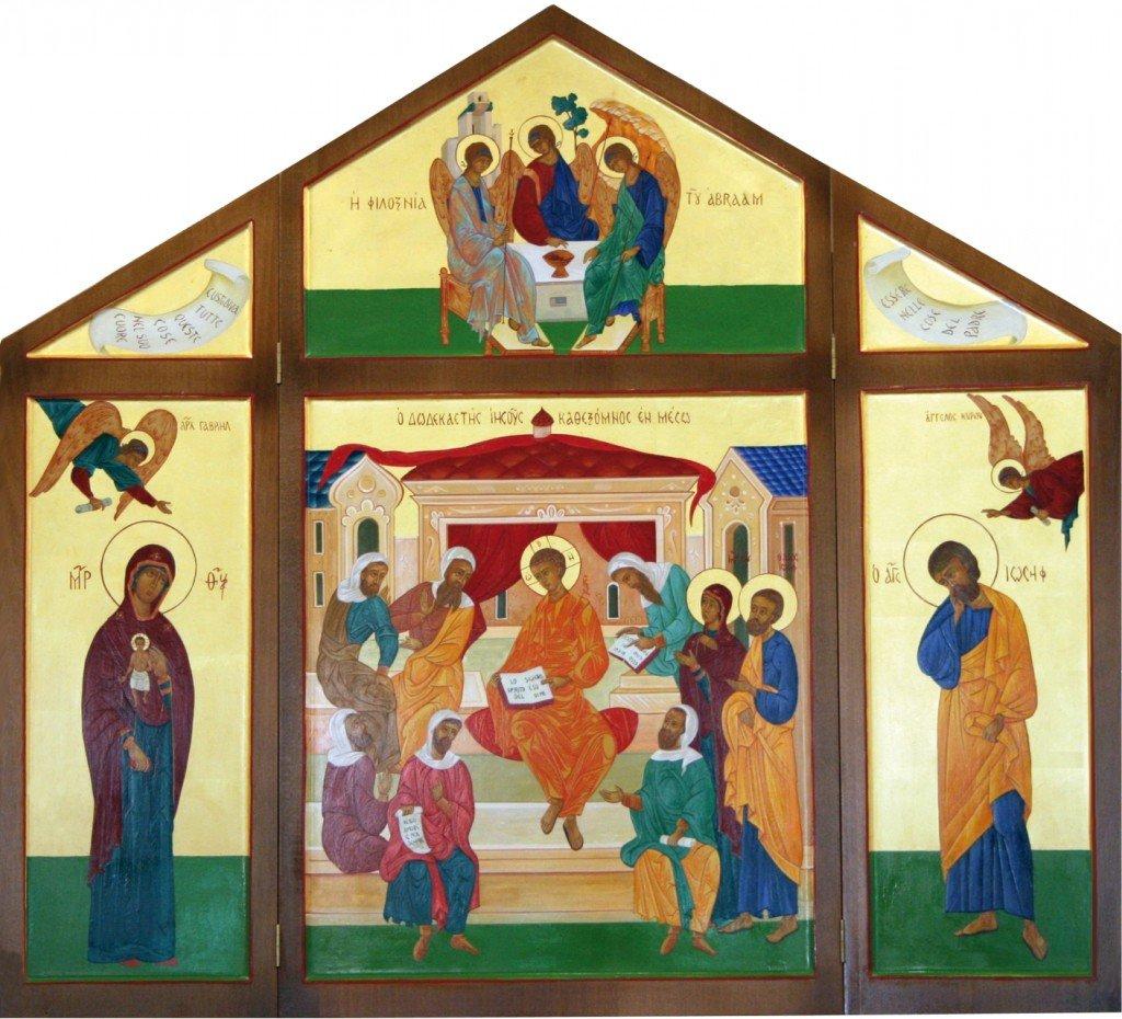 it lciottoli icona della casa di nazareth - Copia