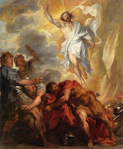 Anthony van Dyck The Resurrection, 1631-1632 circa olio su tela, cm 112 x 95